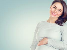 mujer en embarazo